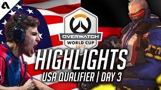 Team USA vs Germany ft. Jake Soldier 76 | Overwatch World Cup 2017 Highlights