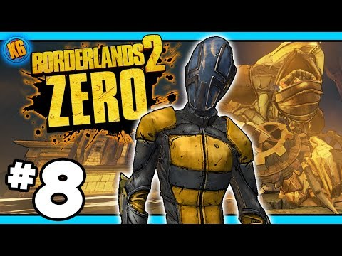 THE IRON GOD?! - Road to Ultimate Zer0 | Day #8 [Borderlands 2]