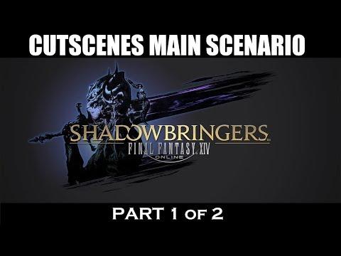 FFXIV Shadowbringers: 5.0 Main Scenario Cutscenes [1/2]