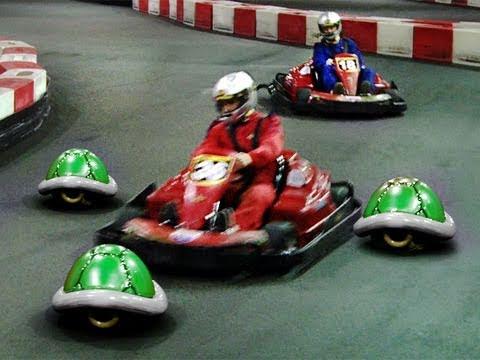 FreddieW: Mario Kart naživo