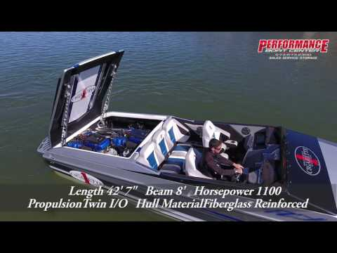 2017 Cigarette Racing 42X offered by Performance Boat Center