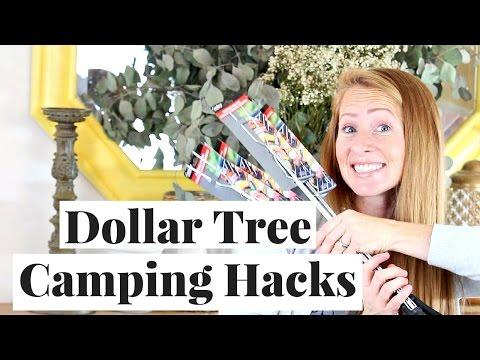 Camping Hacks   Dollar Tree Haul