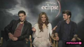Затмение, Ashley Greene, Kellan Lutz & Jackson Rathbone Eclipse Interview