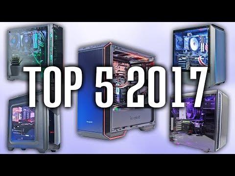 Die BESTEN Gehäuse 2017 - Top 5 Gaming PC Gehäuse!