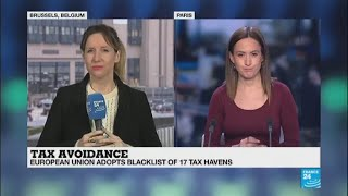 """European Union adopts blacklist of 17 tax havens: """"There is no EU member states on that list"""""""