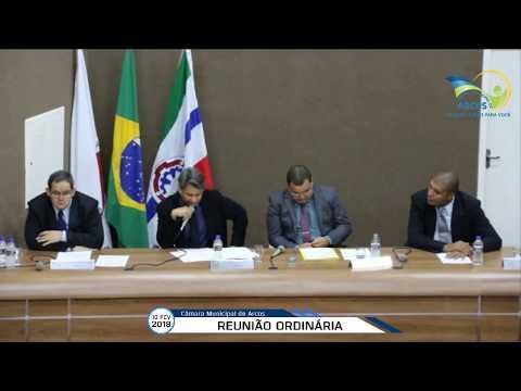 Reunião Ordinária (08/02/2018) - Câmara de Arcos