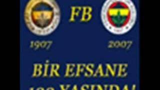 100.yıl şarkı Fenerbahçe Yeni