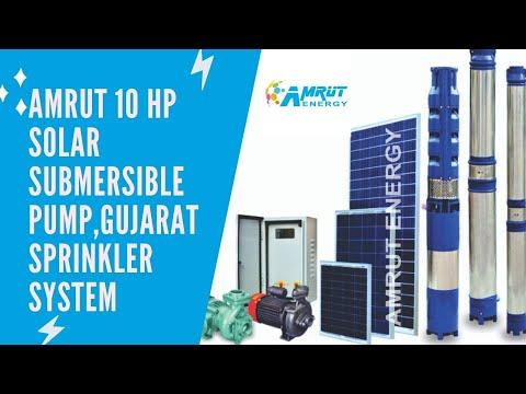 10 HP AC Solar Pump