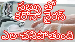 soap kills  virus   How to hand wash with soap and water   