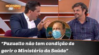 Treta! Adrilles e Rubinho Nunes divergem sobre atuação de Pazuello