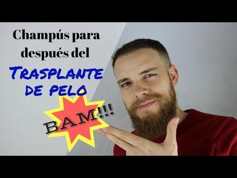 CHAMPÚS PARA DESPUÉS DEL TRASPLANTE DE PELO