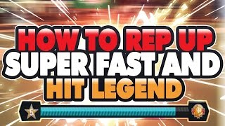 NBA 2K17 - How to Rep Up and Hit Legend Really Fast! In Under A Month!! - NBA 2K17 MYPARK