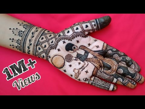 indian traitional mehndi design karva chauth by mehndi creations