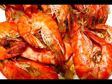 Video How to Cook Buttered Shrimp Recipe - English