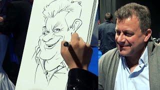 Live Caricature Compilations by Schnellzeichner Xi - Karikaturist für Events