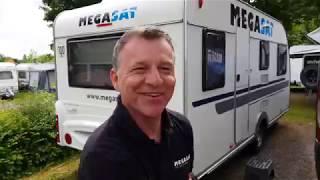 MEGASAT auf der Camp-Roadshow 2019   #campertobi