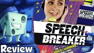 Speech Breaker Review - with Tom Vasel