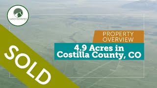 LAND FOR SALE - 4.9 Acres in San Luis North Estates, CO