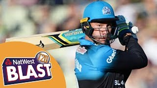 Thrilling Finish To High-Scoring Game - Birmingham v Worcestershire NatWest T20 Blast 2017