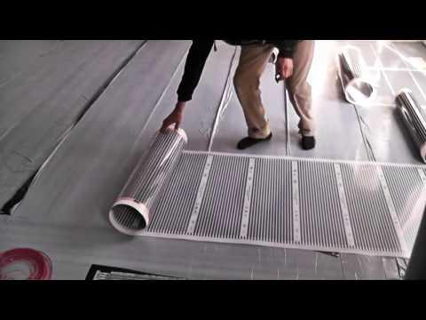 Carbon Warm Floor Heating Film For Any Floor 100 Sq Ft Ebay