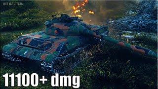 Объект 430У бой на лучшем СТ 10 уровня 🌟 11100+ dmg 🌟 World of Tanks новый средний танк СССР wot