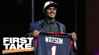 The Houston Texans Are In 'Panic Mode' | First Take | April 28, 2017