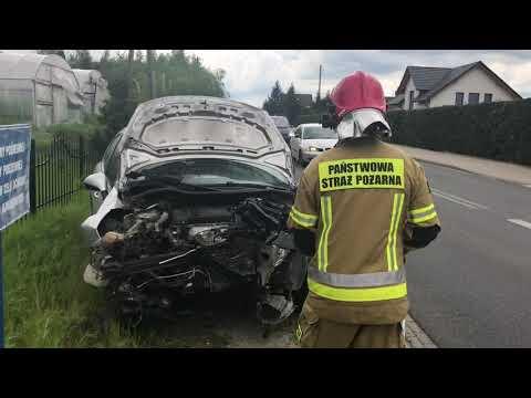 Wideo1: Wypadek we Włoszakowicach