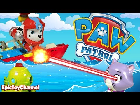Download Paw Patrol Sea Patrol Nickelodeon Sweetie Traps Captain Turbot in Sub & Paw Patrol Pups Save The Day HD Mp4 3GP Video and MP3