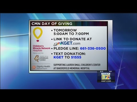 Children's Miracle Network Day of Giving provides emergency medical care for local children