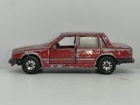Matchbox 1986 Volvo 760 GLE - Custom Video