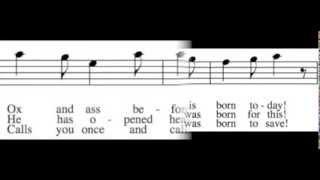 Good Christian Men, Rejoice - Tenor Only - Learn How to Sing Christmas Carols