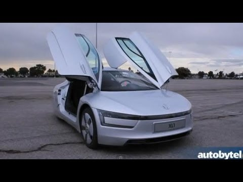watch most fuel efficient car in the world 2014 volkswagen xl1 walkaround video review la. Black Bedroom Furniture Sets. Home Design Ideas