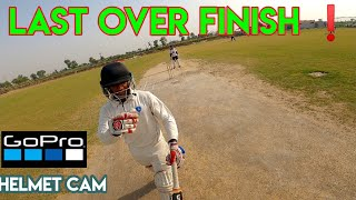 Highlights | Thrilling last Over cricket match finish | gopro fpv helmet cam cricket | cricket vlogs