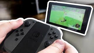 Японская игровая консоль! Nintendo switch!