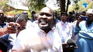 Isiolo residents protest over order to vacate disputed land claimed