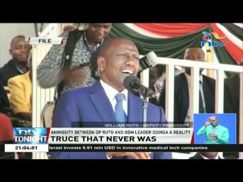 DP Ruto Vs Raila Odinga: Truce that never was?