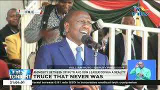 DP Ruto Vs Raila Odinga: Truce that never was?