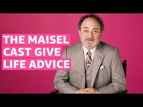 Advice from the Cast of The Marvelous Mrs. Maisel | Prime Video