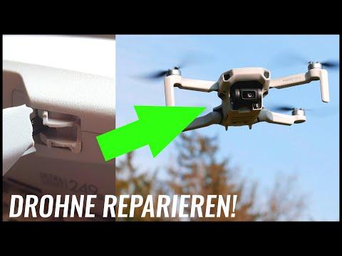Kann man eine Drohne kleben? DJI Mavic Mini reparieren 🛠