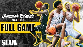 Jalen Green, James Wiseman DOMINATE the SLAM Summer Classic | FULL GAME