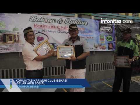 Komunitas Karimun Club Bekasi Gelar Aksi Sosial