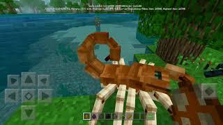 КАК ПОЛУЧИТЬ СЕКРЕТНЫХ МОБОВ В Minecraft PE 1.8.0.8 | СКОРПИОН, УТКА И ДРУГИЕ | МОД ОТ РАЗРАБОТЧИКОВ