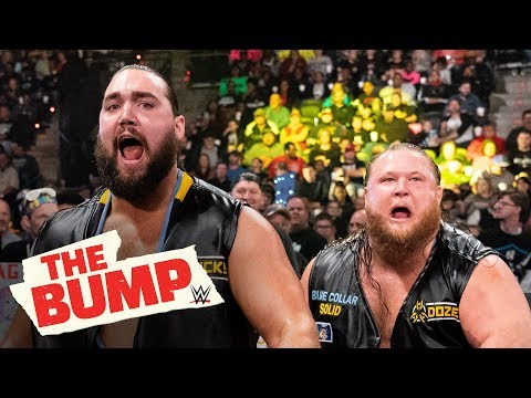 Heavy Machinery talk (and devour) turkey live on the internet: WWE's The Bump, Nov. 20, 2019