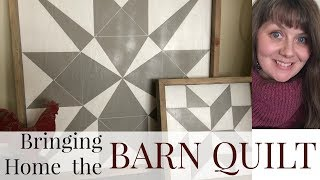 Bringing Home The Barn Quilt
