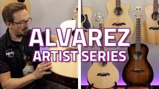 Alvarez Artist Series Overview...High Quality, Great Value Acoustic Guitars!