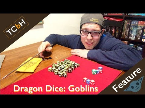 Dragon Dice - Goblins! A faction spotlight by The Cardboard Herald