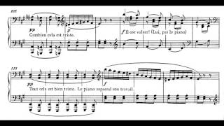 Erik Satie - Sonatine Bureaucratique for Piano (1917) [Score-Video]