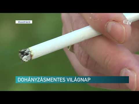 Leszokni a dohányzásról és helyreállt a látás