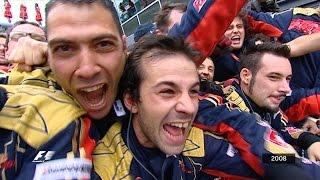 Your Favourite Italian Grand Prix - 2008 Vettels Victory