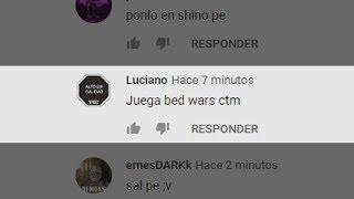 ESTE VIDEO LO HICE POR ESTE COMENTARIO